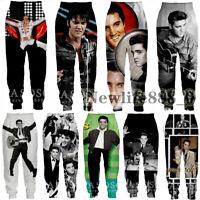 3D Print ELVIS Presley Casual Pants Men Women Jogger Trousers Fitness Sweatpants