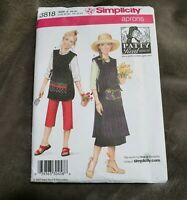 Simplicity 3818 Patty Reed Gardening Smock Apron 2 Lengths Size 6 - 24 UNCUT