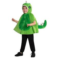 Dinosaur Cape Green Velociraptor T-Rex Boys Girls Book Day Fancy Dress Costume