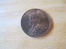 King George VI & Queen Elizabeth Canada 1939 Medal