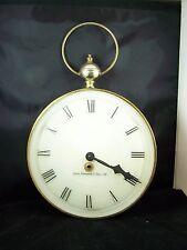 Vintage Winding  Wall  Clock Working Josiah Wentworth & Sons Ltd France