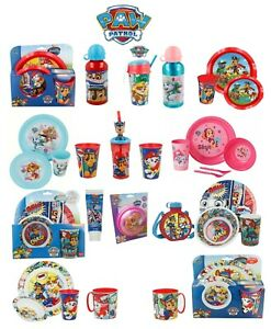 Paw Patrol World-15 Character Items Breakfast Sets,3D Tumblers,Bottle & Many Mor