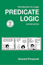 USED (GD) Introduction to Logic: Predicate Logic (2nd Edition) by Howard Pospese