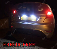 FORD FIESTA MK7 UPGRADE LED BULBS NUMBER PLATE LIGHT BRIGHT WHITE ERROR FREE