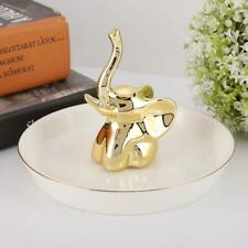 Cute Ring Holder Dish Jewelry Necklace Ring Organizer Trinket Display Decoration