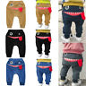 Toddler Baby Kids Boys Girls Cartoon Shark Tongue Harem Pants Trousers Pants