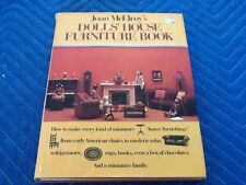 McElroy Dolls House Making Dollhouse Miniature Furniture HB/DJ How-To Book
