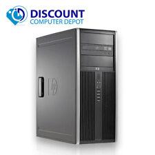 HP PC de escritorio i3 torre del equipo Windows 10 Quad Core 8GB Ram 500GB Wi-fi Dvd-rw