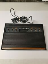 Atari 2600 4 Switch System Wood Grain Console Only Untested Clean