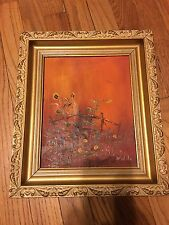 Original Vintage oil painting By Well-known Artist NIDILO (PH-23)