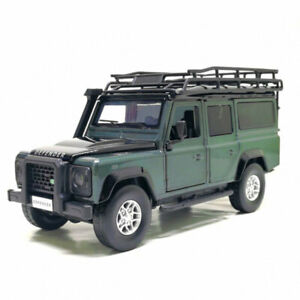 Land Rover Defender Off-road Vehicle 1/32 Model Car Diecast Toy Kids Gift Green