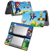 NEW Super Mario Bros Vinyl Skin Sticker DECAL COVER  for  NINTENDO 3DS Console