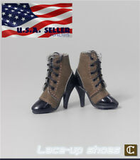 """1/6 Scale Ankle Boots C For 12"""" TBLeague Hot Toys PHICEN Female Figure ❶USA❶"""