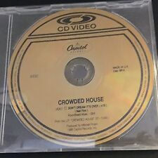 1986 CROWDED HOUSE Don't Dream It's Over NTSC PROMO CD VIDEO AUDIO CDV UK