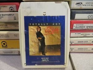 OLIVIA NEWTON JOHN Totally Hot (8-Track Tape)