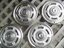 1965 1966 1967 68 FORD 13 INCH FALCON RANCHERO HUBCAPS WHEEL COVERS CENTER CAPS