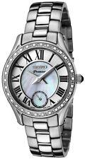 Seiko SRKZ93 SRKZ93P1 Ladies Premier Diamond Mother of Pearl watch RRP $1150.00