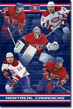 HOCKEY POSTER Montreal Canadiens Team 2010 NHL