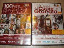 3 DVD UFFICIALI 100 ANNI DI CUORE GRANATA TORINO CALCIO HISTORY CENTENARIO TORO