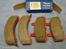 88 89 90 91 Chevrolet Chevy GMC C1500 K1500 Disc Brake Pad Set Front Semi Metal