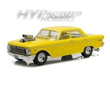GREENLIGHT 1:18 1965 FORD CP FALCON W/ENGINE BLOWER DIE-CAST YELLOW DDA004
