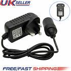 Uk 240v Mains Plug To 12v Socket Adapter Car Cigarette Lighter Power Converter