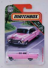 Matchbox 2019 '55 Cadillac Fleetwood Pink #11 MBX Road Trip