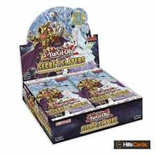 YuGiOh! Secret Slayers Sealed Booster Box of 24 Packs | 1st Edition | TCG Cards