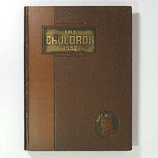 NORTHEASTERN UNIVERSITY - Cauldron 1932 - Yearbook - Boston Massachusetts