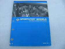 2005 Harley Davidson Sportster Parts Catalog Manual Book 99451-05