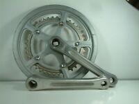 Vintage Silstar / SR Lightweight Alloy Chainset 52 / 40 Teeth 170 mm Cranks