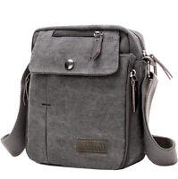 Crossbody Bags Canvas Men Messenger Bags Shoulder Bag Satchel Bag Bookbag