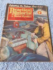 Vintage Practical Motorist & Motor Cyclist Magazine March 1955