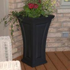 Mayne Cambridge Tall Planter Black 4834-B