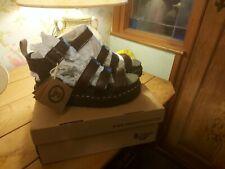 DR.MARTENS BLAIRE Cherry Red vegan Strap Sandals *NEW* Size 6 1/2 UK
