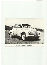 Original RENAULT 4 CV' affaires' 1957 Photo de presse-Brochure liés