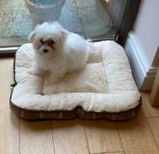 Puppy Dog Bed Mat Mattress Luxury Washable Soft Cosey Warm Plush Fleece cover