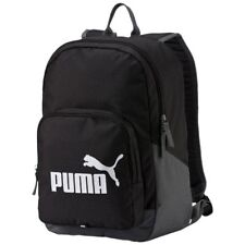 Puma Phase  Backpack Rucksack Bag School Gym Sport Training Travel Black