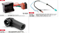 QuadIock ISO Radio Adapter Phantom Antenne kompatibel mit VW Golf 5 6 Passat EOS