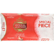 Imperial Leather Bar Soap 3Ct X 100G Original Ivory Rich Creamy Lather