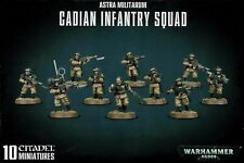 Warhammer 40,000 Imperial Guard Astra Militarum Cadian Infantry Squad
