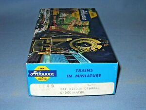 6308_ATHEARN HO UNDECORATED BUT CUSTOM PAINTED BAY WINDOW CABOOSE UNBUILT KIT