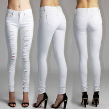 Cotton Blend Mid Rise Petite Jeans for Women