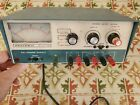 Heathkit IP–2718 tri-power variable power supply! AS-IS FOR PARTS - DOES TURN ON