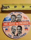 The Victors 1976 Battle For President Carter Mondale Button