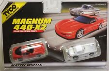 HO Slot Car - Tyco 440x2 Magnum Twin Pack - '97 Chevy Vette & '60 Vette - 32264