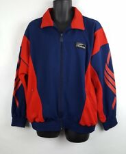 Vintage Adidas Torsion Track Jacket Red Blue XL J9