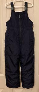Snow Pants (OshKosh) - Kids Insulated Overalls Snow Bib, Unisex Size L/7