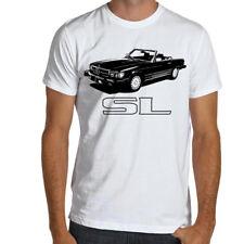 Classic Mercedes R107 SL 450 SOFT Cotton T-Shirt Multi Colors&Sizes 350 500 560