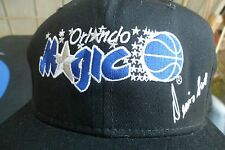 Vintage Orlando Magic Dennis Scott Black Snapback Hat 90's